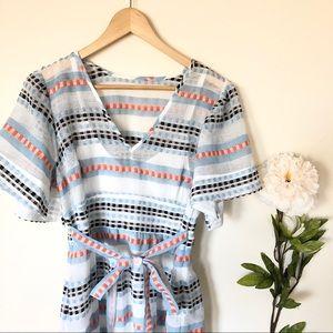 NWT Plenty by Tracy Reese | Tie Waist Dress Multi